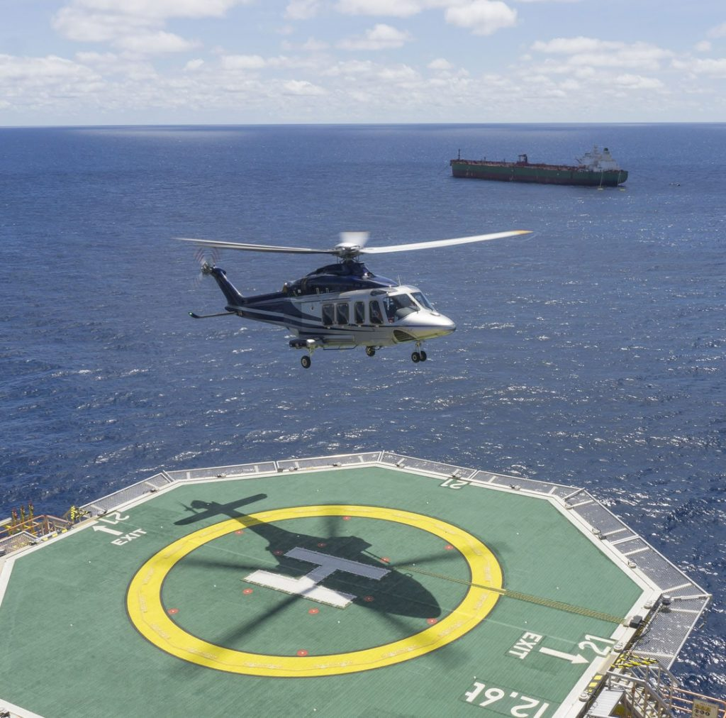 MSI Helicopter Landing On FPSO