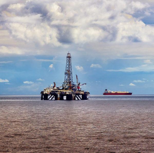 MSI Oil Platform and Ship